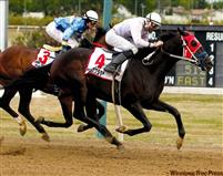 Winning the Manitoba Derby 1st August '11