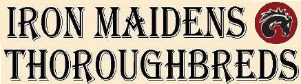 Iron Maidens Thoroughbreds logo