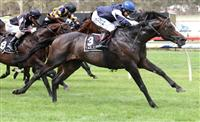 Jet away winning Easter Cup (G3) on route to the Caulfield Cup.