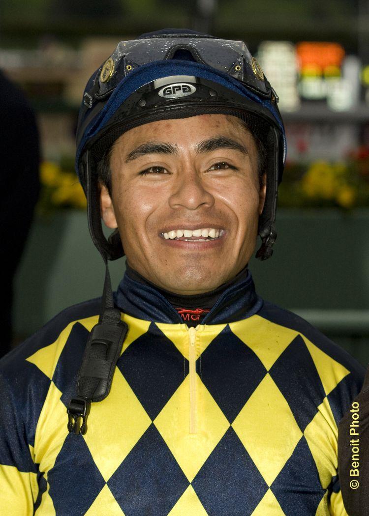 Jockey Martin Garcia.