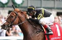 Judy the Beauty and John Velazquez win the 33rd running of the Thoroughbred Club of America Grade 2 $200,000 at Keeneland Race Course for owner and trainer Wesley Ward. October 05, 2013.