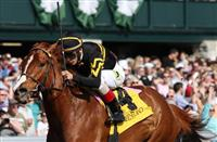 April 12, 2014: Judy the Beauty and jockey John Velazquez win the 13th running of The Madison Grade 1 $300,000 at Keeneland racecourse for owner and trainer, Wesley Ward . Candice Chavez/ESW/CSM