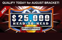 Meet The FINAL FOUR - DerbyWars JULY $25K Bracket Championship!