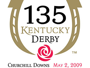 2009 Kentucky Derby logo - Derby 135