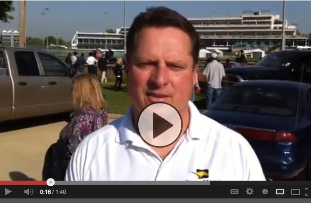 Trainer Tom Amoss talks about Mylute's chances in the Kentucky Derby