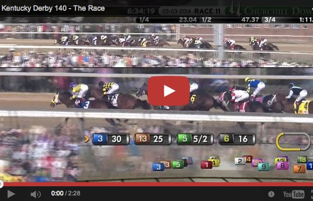 Kentucky Derby 2014 video replay