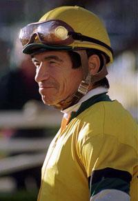 Jockey Laffit Pincay Jr.