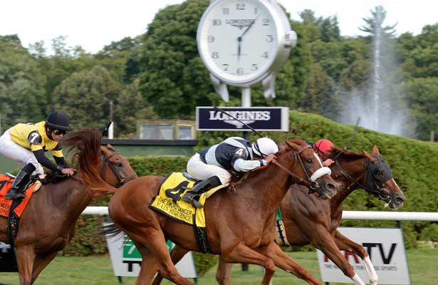 Main Sequence wins 2014 Sword Dancer.