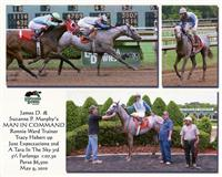 Maiden Win at Louisiana Downs on May 9, 2010