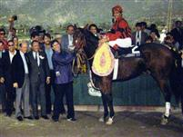 Manila, 1986 Breeders' Cup Turf winner's circle