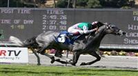 Midships, of Juddmonte Farms, riden by Victor Espinoza wins The San Juan Capistrano Handicap at Santa Anita Park, Arcadia, CA