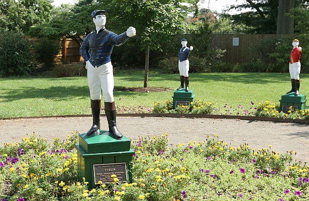 Monmouth Park Lawn Jockeys