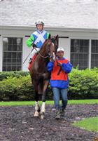 Nicanor and Jose Valdivia before Sussex Stakes Delaware Park 7/10/2101