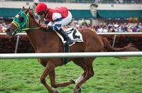 Parranda with Jose Lezcano up for the win in the Suwannee River(G3T) at Gulfstream Park, Hallandale Beach Florida. 02-08-2014
