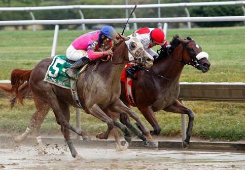 Blind Luck wins 2010 Delaware Oaks