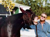 Speckert and Former Racehorse, Pleasant Tap