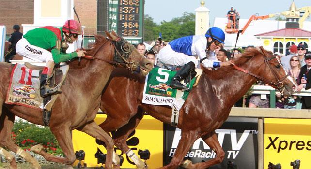 Preakness captures the 2011 Preakness over Animal Kingdom