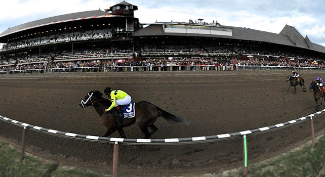 Quality Road takes the 2010 Woodward