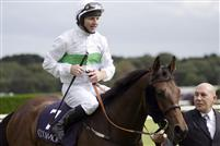 Rainbow View with Jamie Fortune aboard win the Group One Coolmore Fusaichi Pegasus Matron Stakes at Leopardstown - 2009