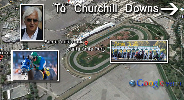 Santa_Anita_Map_Derby_Trail