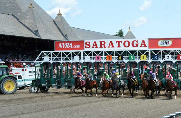 Saratoga Race Course 2014.