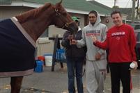 Siva horse, Peyton Siva and Rick Pitino