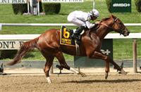 Unbeaten Speightster knocks off Texas Red in the Dwyer