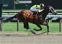 Summer Laugh breaks maiden at Saratoga (8-8-10).