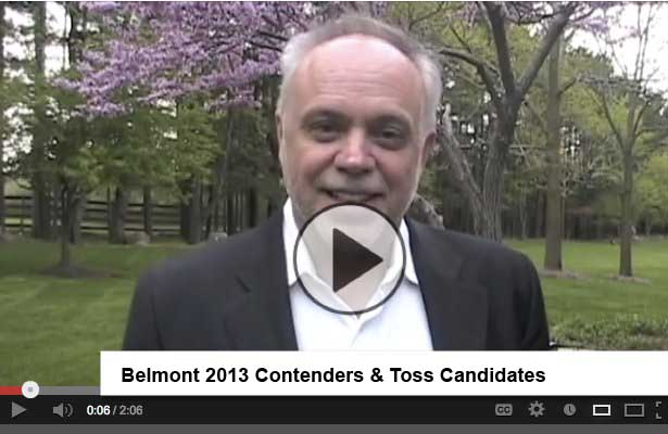 Belmont Stakes 2013 - Toss This Belmont Favorite