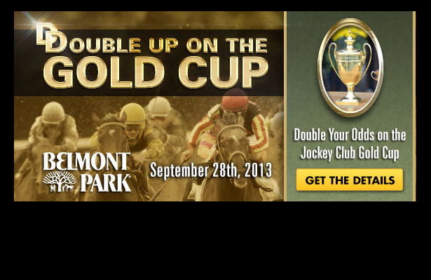 TVG Double Up on the Jockey Club Gold Cup