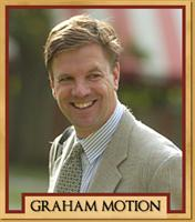 Trainer Graham Motion