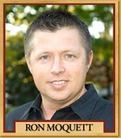 Trainer Ron Moquett