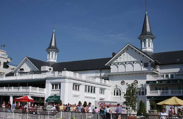 Twin Spires at Churchill Downs. 06.27.2009