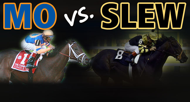 Uncle Mo vs. Seattle Slew