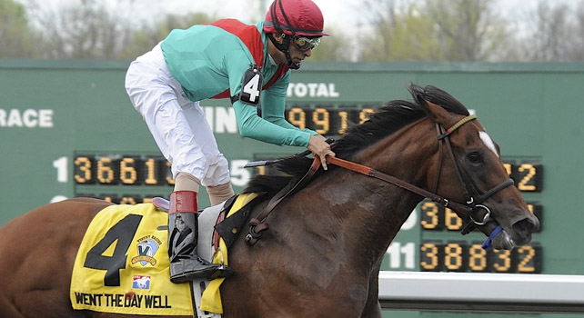Went The Day Well wins the Spiral Stakes