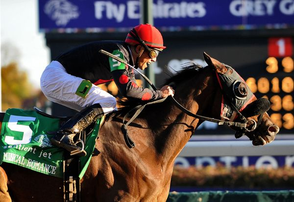Musical Romance wins 2011 BC Filly & Mare Sprint