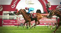 Barnaby winning the Qatar Prix du Cadran (Gr.1) at Longchamp