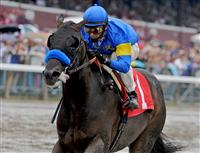 Two-year-old Bulldogger wins his debut at Saratoga on Travers Day