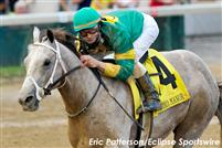 Exfactor wins the Bashford Manor at Churchill Downs (Eric Patterson/Eclipse Sportswire)