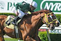 Eldoktori with Ramon Dominguez up wins on July 5, 2009 Belmont Park