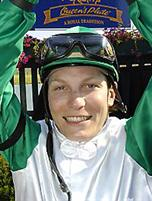 Jockey Emma-Jayne Wilson
