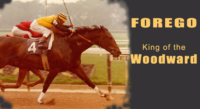 Forego won 4 consecutive runnings of the Woodward.