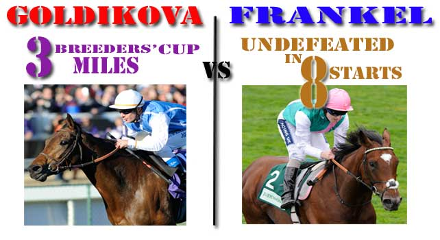Point/Counterpoint - Who is the best Miler in the World - Goldikova or Frankel?