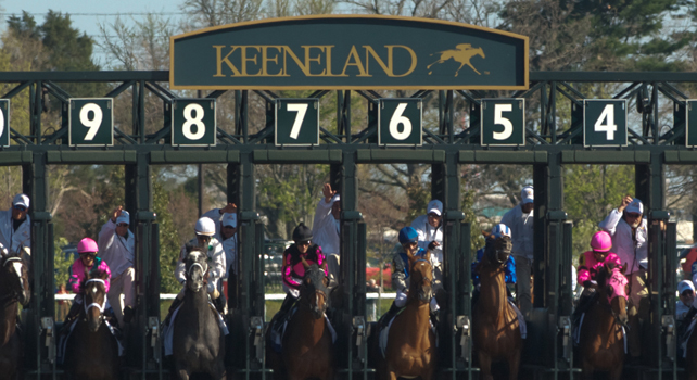 keeneland start