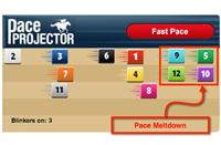 TimeformUS Pace Projector forecasts a meltdown at Aqueduct Friday
