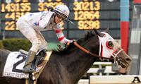 I Want Revenge captures the 2009 Wood Memorial in dramatic fashion after missing the break and starting in last place.