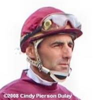 Jockey Robert Landry at Woodbine
