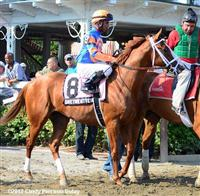 Onetwentyeight before finishing 3rd in G3 Sanford Stakes