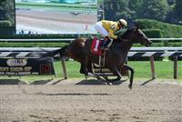 Sign romps in Saratoga debut
