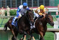Successful Dan holds off Warrior's Reward in the G3 Northern Dancer